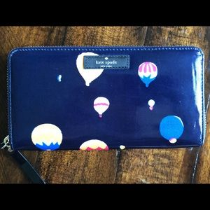Kate Spade Hot Air Balloon Party Daycation Wallet
